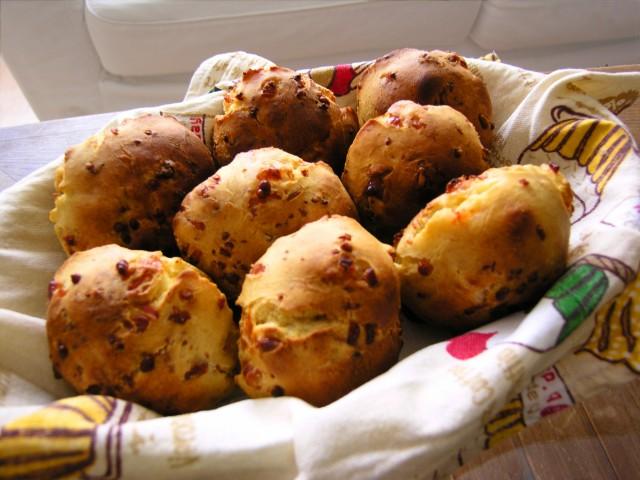 Panets de bacó i formatge