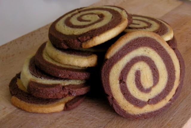 Espirals de xocolata i vainilla, i un dia rodó!