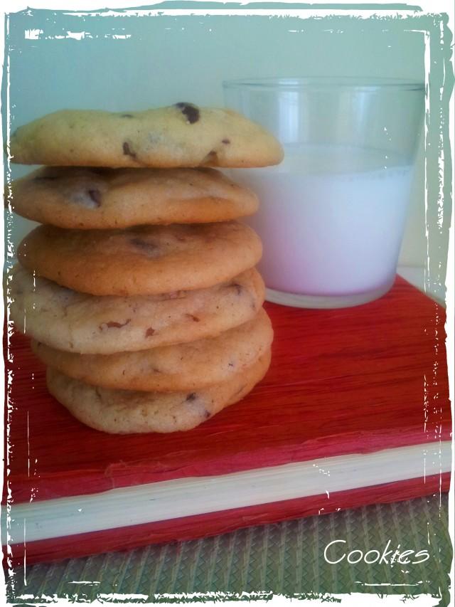 Cookies de xocolata i nous