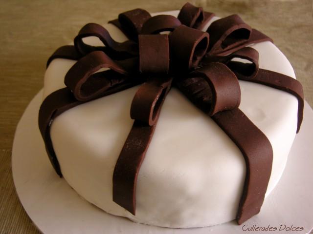 La meva primera tarta fondant