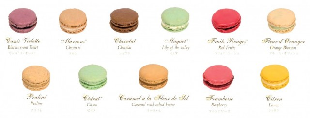 Ingredients per a fer macarons